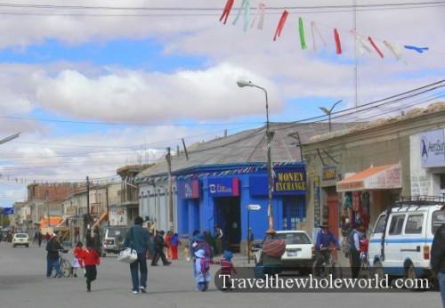 Bolivia Uyuni Street