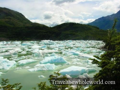 Chile Glacier Lake