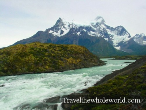 Chile Torres Del Paine River