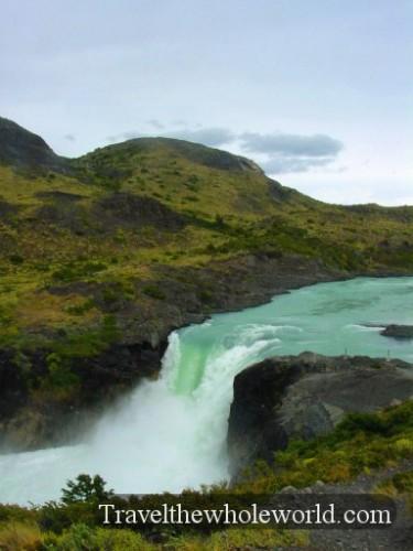 Chile Torquise Waterfall