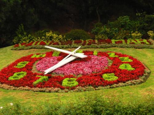 Chile Vina Del Mar Garden Clock