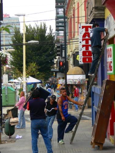 Chile Vina Del Mar Street