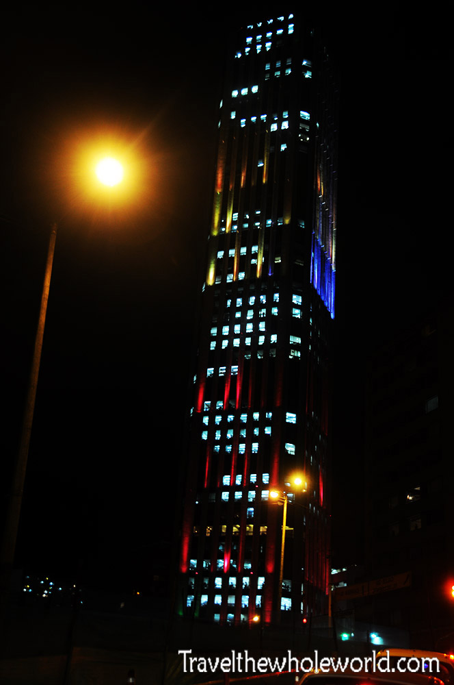 Colombia Bogota Modern High Rise Building