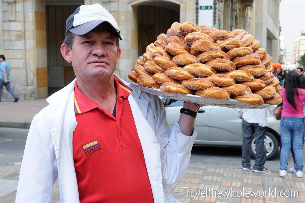 Colombia Bogota Donuts