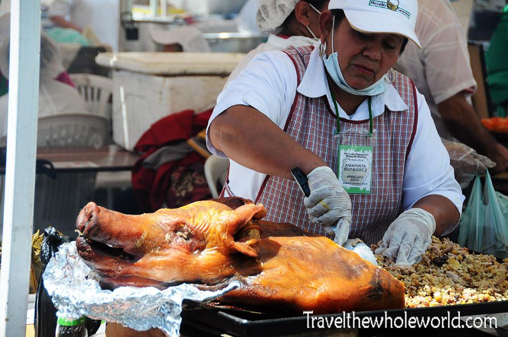 Colombia Bogota Mercado Pig