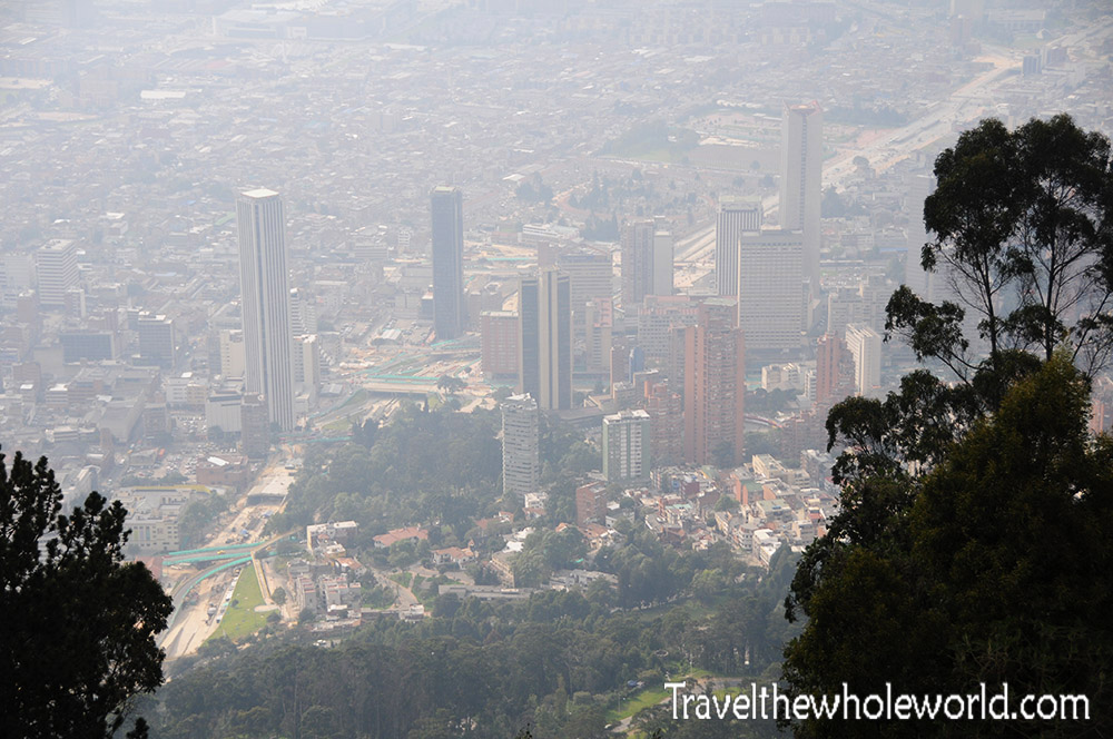 Bogota Colombia Downtown