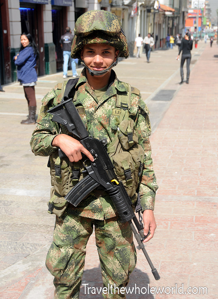 Colombia Soldier