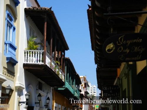 Colombia Cartagena Balconies