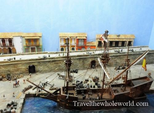 Colombia Cartagena Museum Beginning