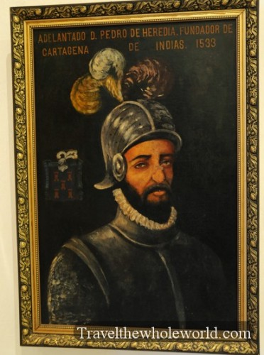 Colombia Cartagena Spanish Inquisition Museum Portrait