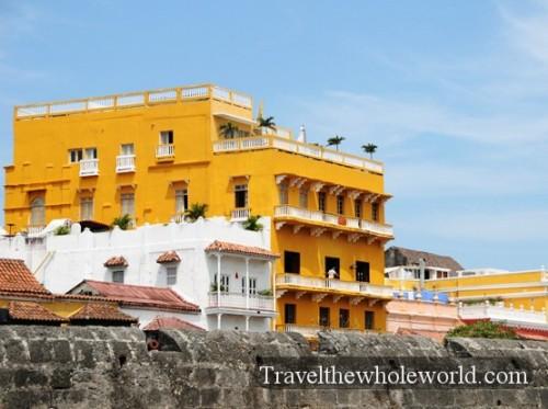 Colombia Old Cartagena City