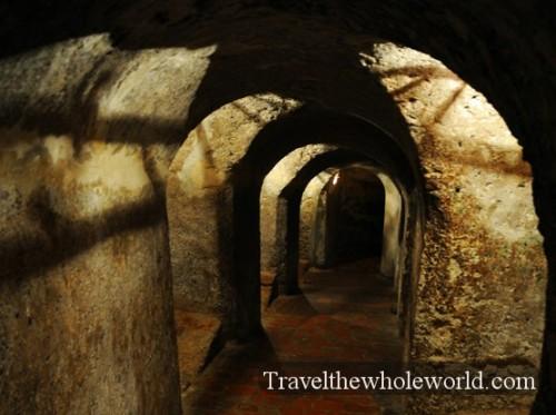 Colombia Cartagena San Felipe Castle Tunnel