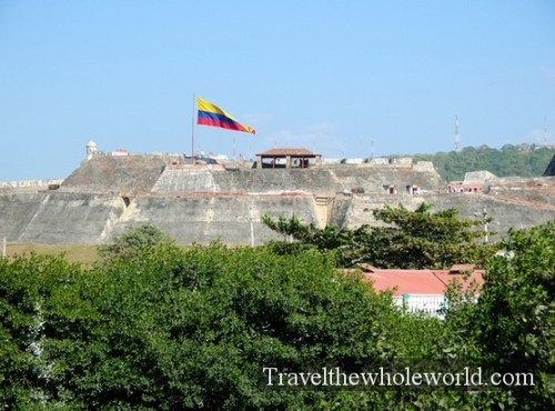 Colombia Cartagena San Felipe Castle