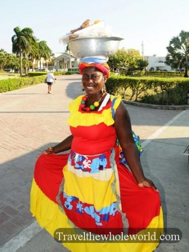 Colombia Cartagena Woman