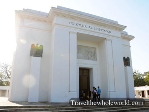 Colombia Santa Marta Simon Bolivar Memorial