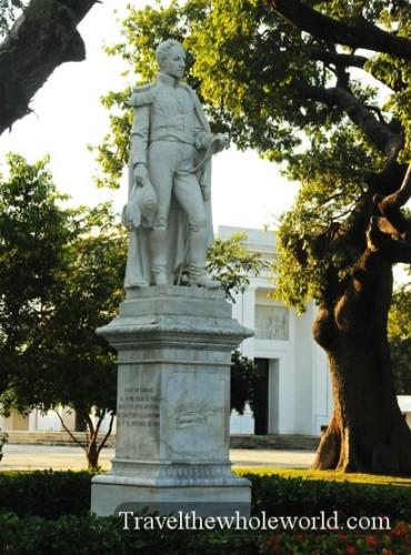 Colombia Santa Marta Simon Bolivar Statue
