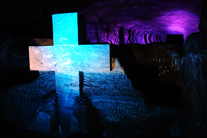Colombia Zipaquira Salt Cathedral Cross