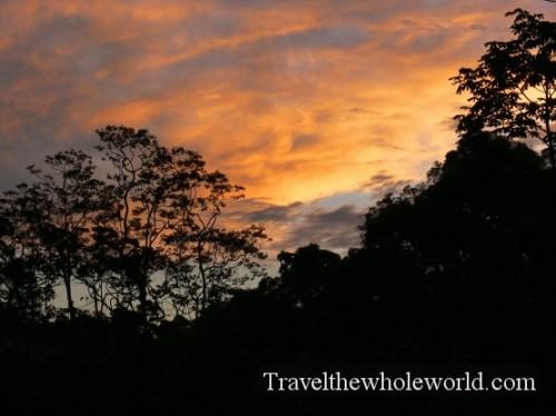 Ecuador Amazon Sunset