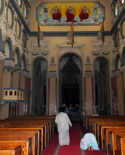 Ethiopia Addis Ababa Cathedral Trinity Inside