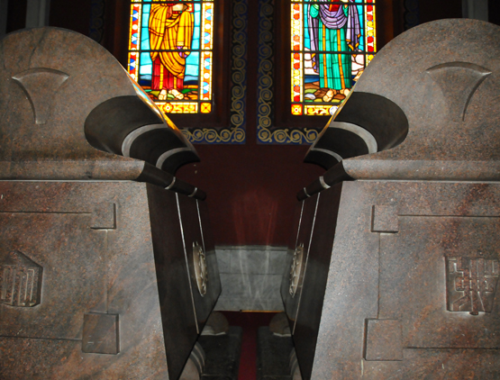 Ethiopia Addis Ababa Cathedral Trinity Selassie Tombs