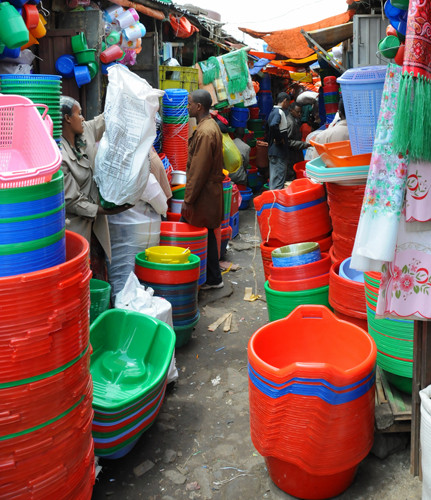 Ethiopia Addis Ababa Mercato Plastic