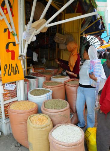 Ethiopia Addis Ababa Mercato Spices