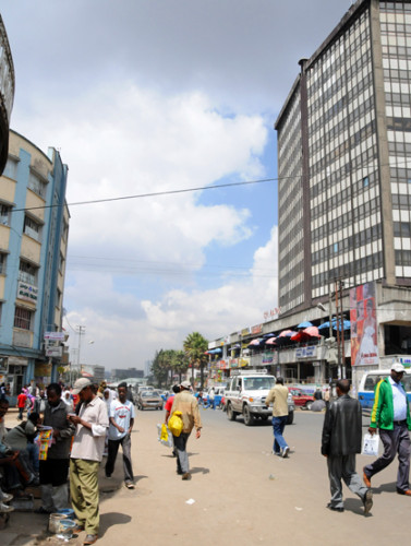 Ethiopia Addis Ababa Piazza