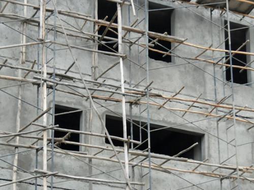 Ethiopia Addis Ababa Scaffolding