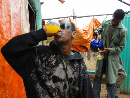 Ethiopia Addis Ababa Tej Drink