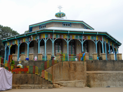 Ethiopia Addis Ababa Tewahedo Church