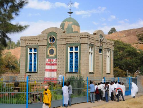 Ethiopia Axum Church Covenant