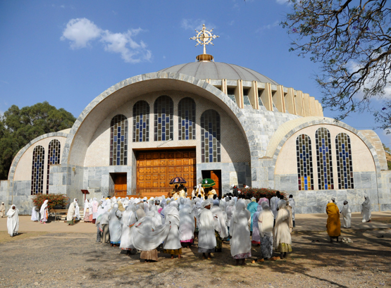 Ethiopia Axum Church of Our Lady Mary of Zion
