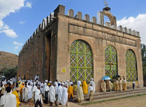 Ethiopia Axum Church Original
