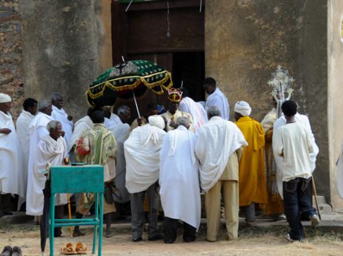 Ethiopia Axum Church Original Ceremony