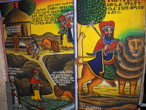 Axum Church Original Paintings