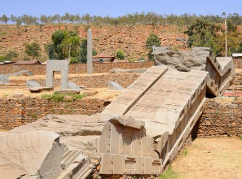 Ethiopia Axum Obelisk Ruins