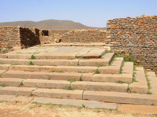 Ethiopia Axum Queen Sheba Palace