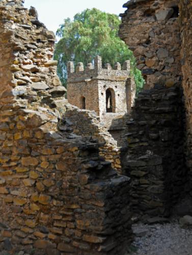 Ethiopia Gonder Castle Ruins