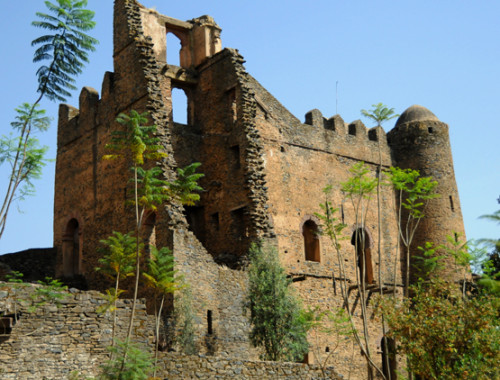 Ethiopia Gonder Castle