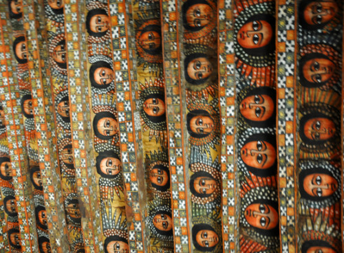 Ethiopia Gondar Trinity Church Ceiling