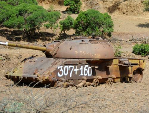 Ethiopia War Tank
