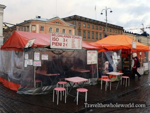 Finland Helsinki Street Vendors