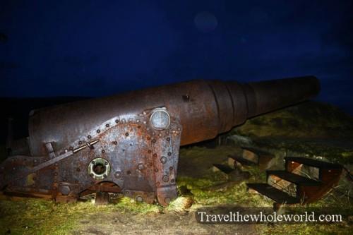 Finland-Helsinki-Soulemmina-Fortress-Cannon