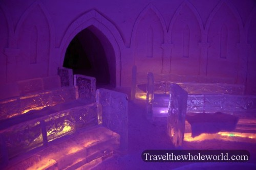 Finland Ice Hotel Village Chapel