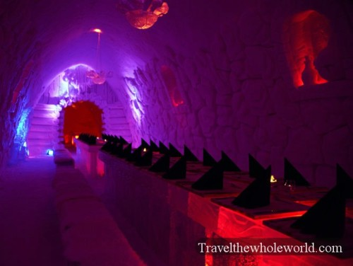 Finland Ice Hotel Village Restaurant