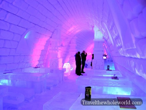 Finland Ice Hotel Village Ice Bar & Cafe