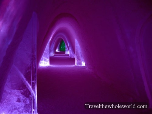 Finland Ice Hotel Village Rooms