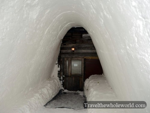 Finland Ice Hotel Village Warm Roo