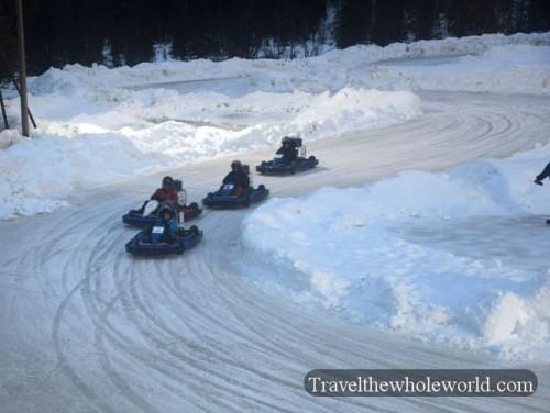 Finland Ice-Karting