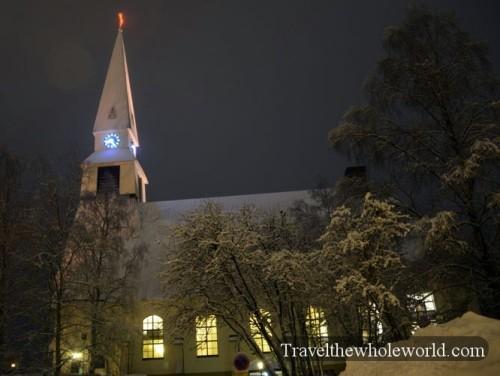 Finland Rovaniemi Church
